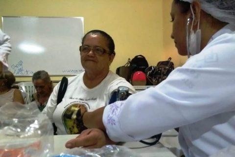 Idosos de Aracoiaba ganham check-up com ação de prevenção promovida pelo Município