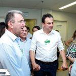 O Prefeito Clebio Pavone esteve ontem (16), acompanhado do Governador Camilo Santana e do Secretário de Saúde Henrique Javi, realizando visita as instalações do Hospital Regional do Sertão Central.