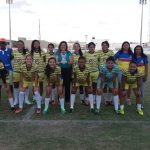 A equipe de futsal feminino de Quixeramobim é vice-campeã na SEMUR 2018