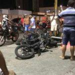 Motociclista que trafegava em alta velocidade colide com motocicletas do RAIO em Quixadá