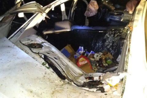 Vereador de Aracati (CE) sofre acidente quando voltava de Mossoró em carro oficial da Câmara