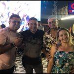 Terceira noite da Festa de aniversário do Sertão Central Atacarejão, e sorteio do carro zero km lota casa de shows Arreio de Prata em Quixeramobim