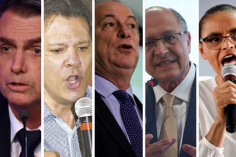 Bolsonaro oscila de 26% para 28%; Haddad sobe 11 pontos