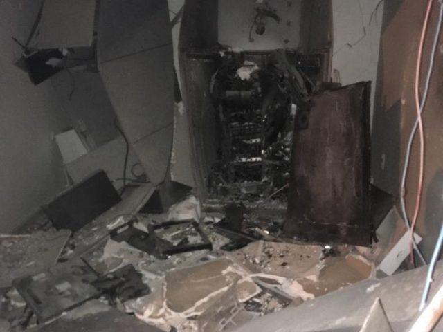 Quadrilha ataca cidade de Groaíras durante a madrugada e explode agência do Banco do Brasil
