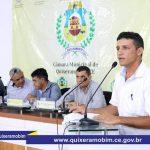 Aconteceu hoje (16), a 1ª Sessão Ordinária do Biênio 2019/2020 da Câmara Municipal de Quixeramobim, no auditório do Memorial Antônio Conselheiro.