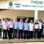 O Prefeito Clébio Pavone realizou visita a Cooperativa dos Produtores de Polpa do Vale do São Bento.
