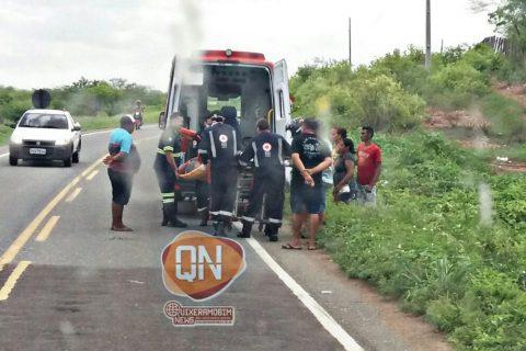 Mais um acidente de trânsito registrado na CE-060 em Quixeramobim