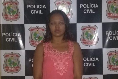 Polícia Civil prende mulher por recrutar pessoas para atuarem em grupo criminoso no interior