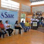 Encerramento da I Copa SAAE de Futsal e a premiação do II Concurso Cultural de Produções Artísticas e Textuais