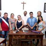 A Prefeitura de Quixeramobim e representantes da Paróquia de Santo Antônio se reuniram para o planejamento dos Festejos de Santo Antônio.