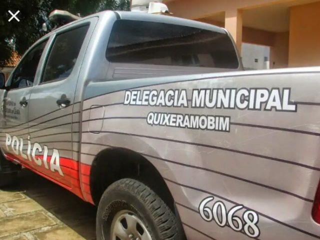Veículo furtado usado em ação criminosa é apreendido na zona rural de Quixeramobim