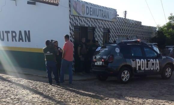 Irmão do prefeito de Nova Olinda é preso por fraudes no Departamento de Trânsito