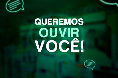 Partícipe da pesquisa Fórmula Verde, Queremos oferecer sempre o melhor!