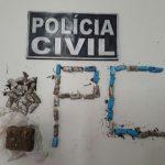 Polícia Civil do Ceará realiza prisão em flagrante por tráfico de drogas em Pedra Branca