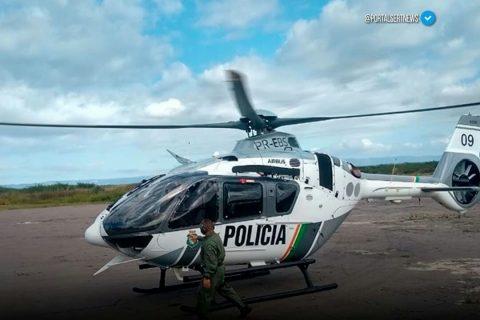 Veja o vídeo: Policia Militar do Ceará inicia buscas a Zé do Valério no Piauí com uso de helicóptero