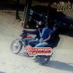 Veja o vídeo dos criminosos que realizarem o assalto em um estabelecimento comercial na zona rural de Quixeramobim