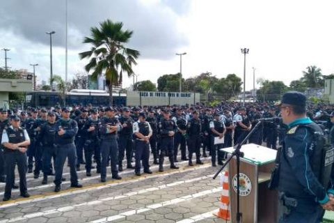 Sem repostas sobre o reajuste e aumento salarial, policiais já falam em parar no Carnaval