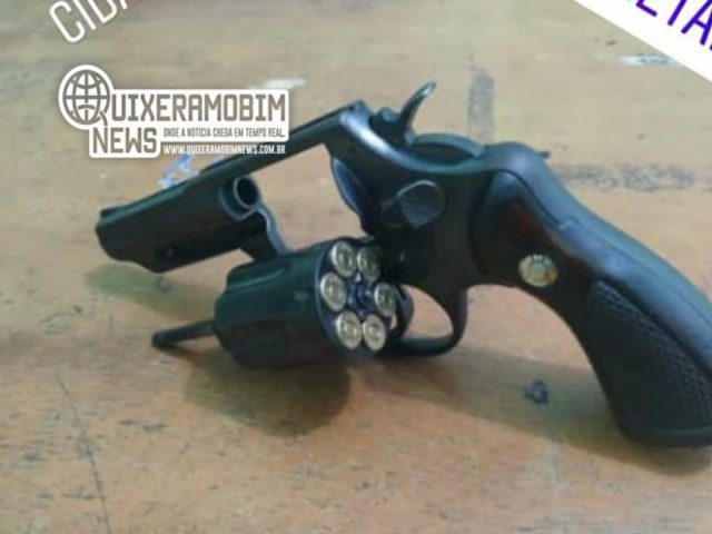 Homem é preso por posse ilegal de arma de fogo em Jaguaretama