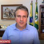 Camilo prorroga decreto de isolamento social por mais duas semanas; medida vai até 20 de abril