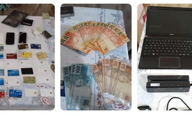 Dupla suspeita de furtar banco no Interior do Ceará é presa pela PMCE em Fortaleza