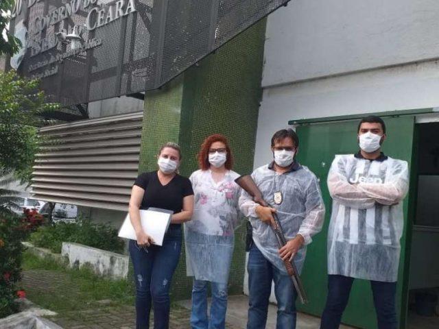 Polícia Civil captura suspeito de ter contraído Covid-19 que fugiu de hospital em Maracanaú