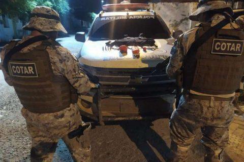 Ação do Cotar da PMCE em Quixadá resulta em prisão e apreensão de drogas