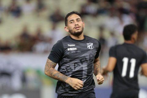 Leandro Carvalho testa positivo para Covid-19 e desfalca Ceará na volta aos treinos