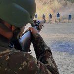 Equipe de atiradores do TG 10-020 de Quixeramobim, realizaram treinamento em Fortaleza.