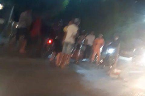 Acidente de trânsito é registrado em Quixeramobim