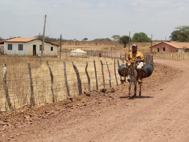 Área de seca quase dobra entre julho e agosto no Ceará