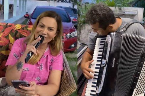 Sítio de Solange Almeida é alvo de denúncia de aglomeração no Eusébio; cantora desmente informação