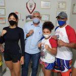 A secretaria de esporte através do secretário Idelbrado Rocha, irá apoiar lutadoras de Quixeramobim em uma competição