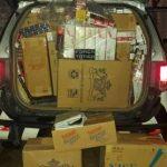 Polícia Militar apreende 4.700 carteiras de cigarros contrabandeados em Caucaia