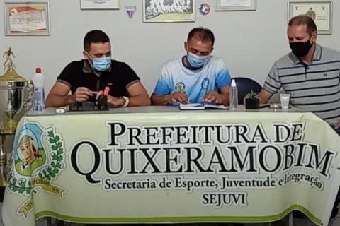 A Sejuvi no seu perfil do facebook realiza a primeira Live abordando o futebol em Quixeramobim assista a live