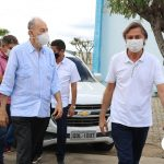 O Prefeito Cirilo Pimenta participou da reunião sobre a produção leiteira