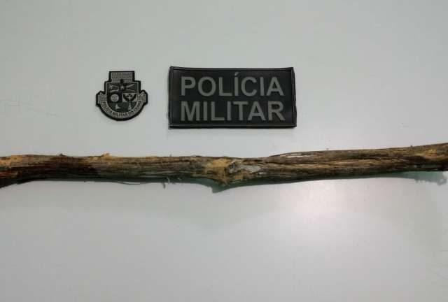 PMCE prende suspeito de agredir sobrinha em Salitre