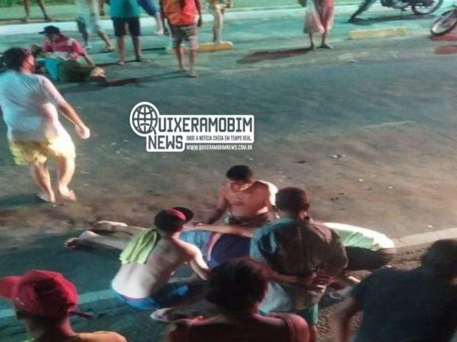 Mais um grave acidente de trânsito é registrado na cidade de Quixeramobim
