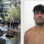 Veja o vídeo: Polícia encontra vela com nome de Lázaro dentro de mata onde ele se escondeu e já conseguiu fugir da Polícia há 13 dias,